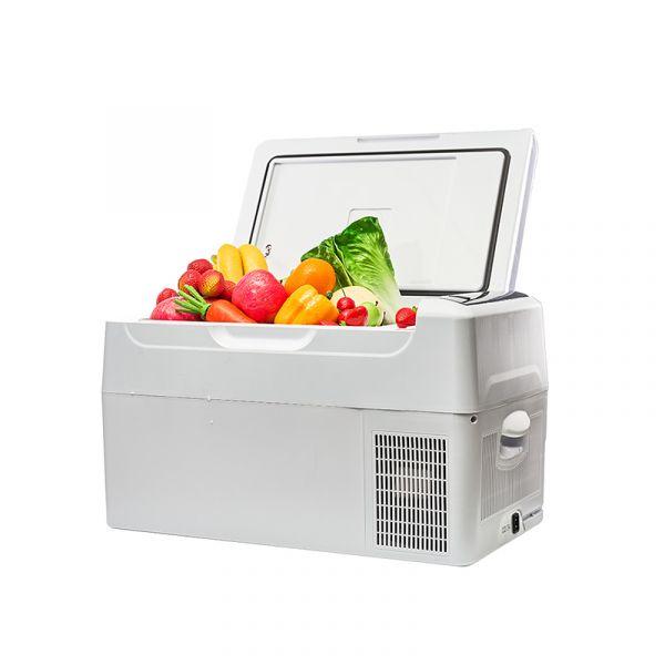 【冰炫風】手機APP遠端控溫 壓縮機可製冰 可達-20度 行動冰箱22L-(贈變壓器) AI 保冰 低溫 保鮮 冷凍 車用 戶外 露營