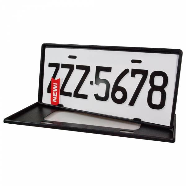 安伯特最新7碼汽車牌框(黑)(一組2入)牌框 牌照框 車牌框【DouMyGo汽車百貨】 安伯特,最新7碼,汽車牌框,牌框,牌照框,車牌框
