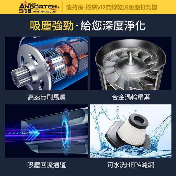 (配件) ABT-E065 核爆VI2四合一無線吸塵打氣機專用濾網