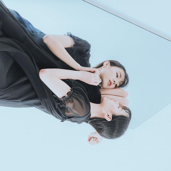 Glaze_琉璃拼接洋裝_黑