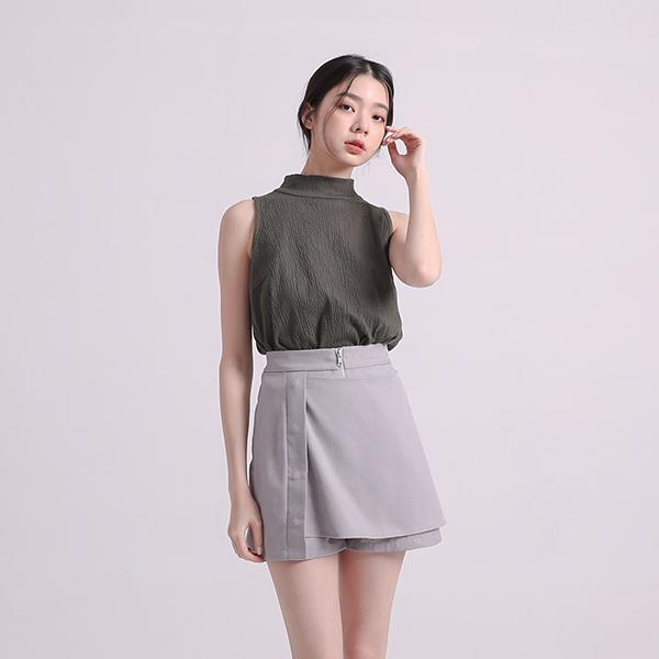 Yuyun_餘韻造型褲裙_勇敢藍