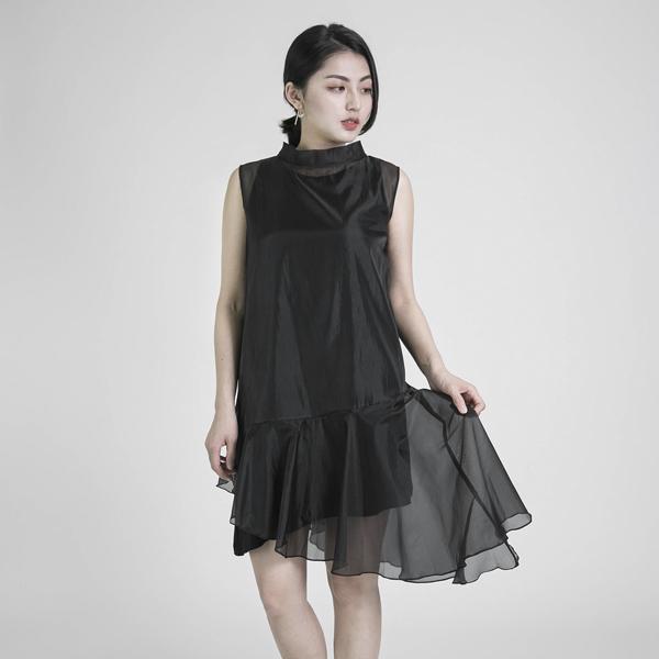 Prototype 原型削肩雙層洋裝