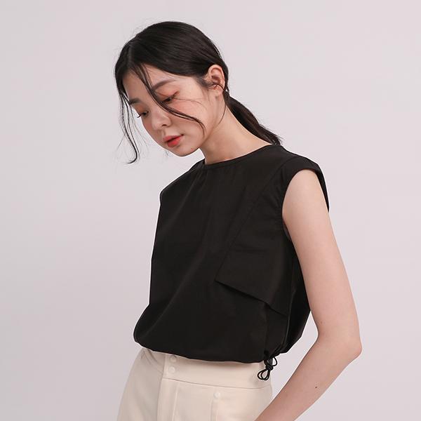 Zhiyin _知音造型背心_寂寞黑