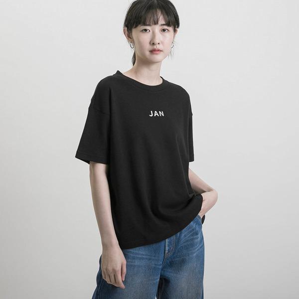 【秋冬季9月-2月】誕生月T-shirt_黑