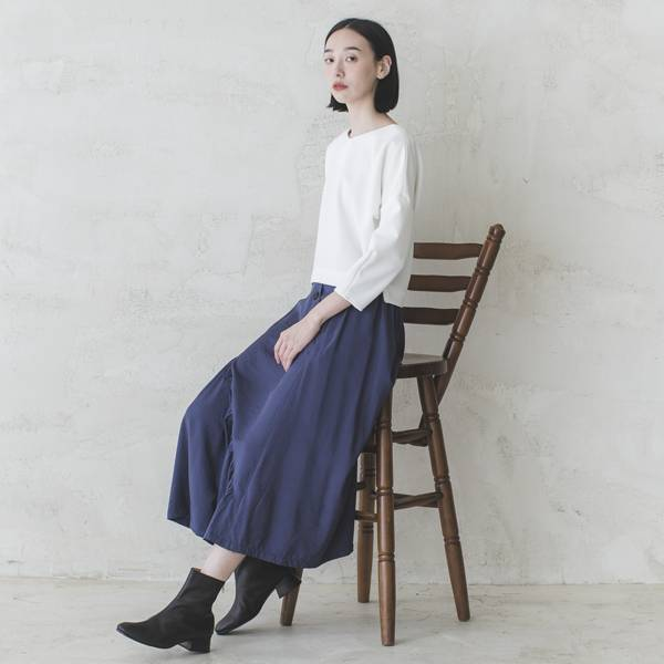 Transform_蛻變皺褶裙_藍