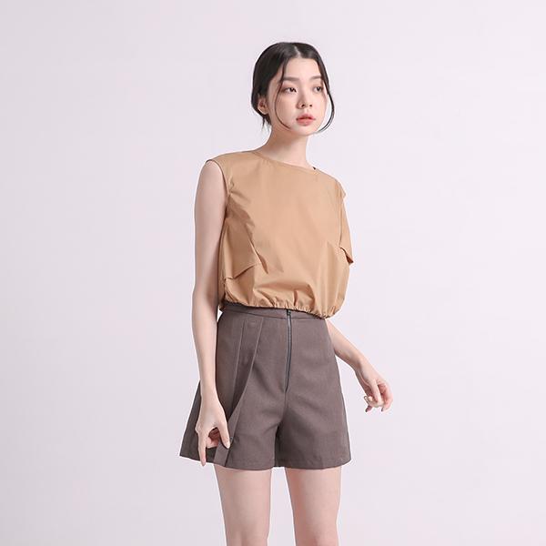 Yuyun_餘韻造型褲裙_孤獨灰