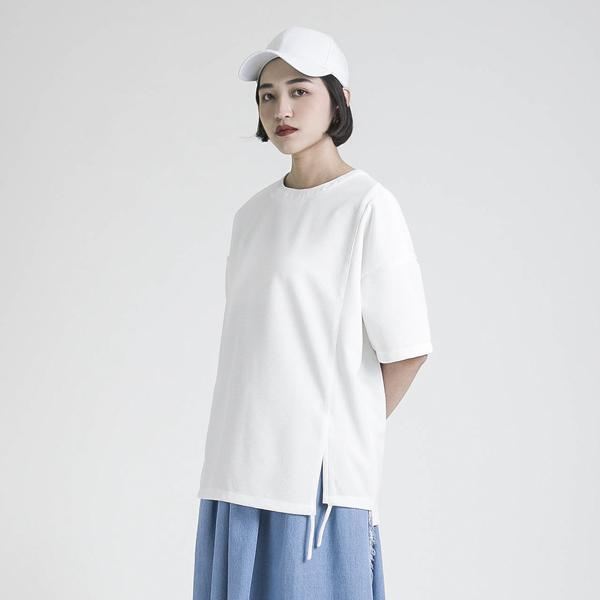 Inspiration 啟示造型寬鬆上衣_白