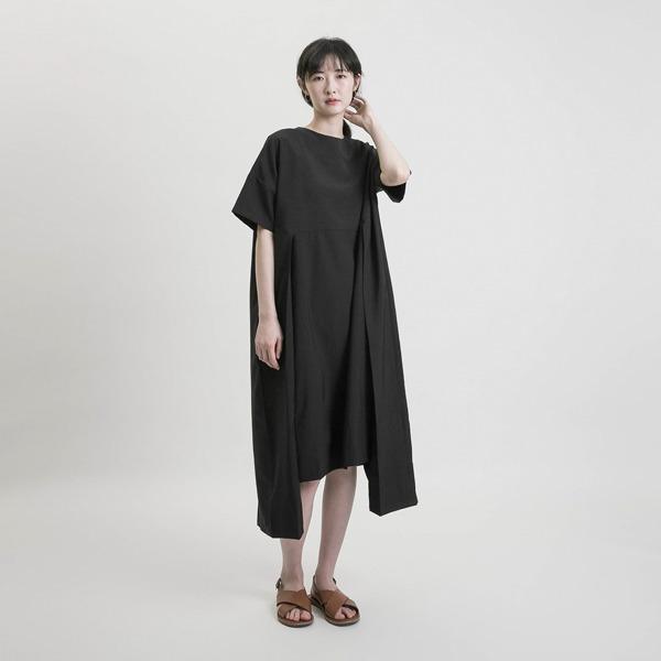 Magritte 馬格利特結構洋裝_黑