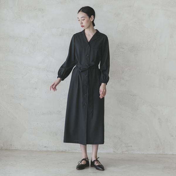 Sudden_驀然綁帶洋裝_黑條紋