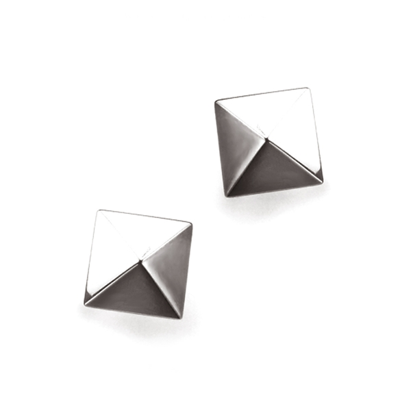 Pyramid - Earring titanium germanium jewelry,bracelet,chains,bangles,couple bracelet,blood circulation,magnetite,La Jolla,neck strain,shoulder pain,massage,healthy,light, sedentary,prolonged standing,healthy,varices,ge