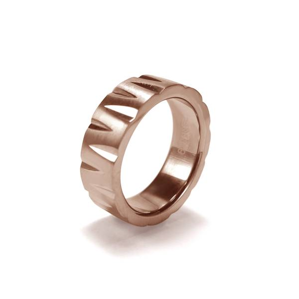 Wogue - Rose Gold - Female Ring Titanium ring,rings,engagement rings,valentine's day gift,daily apparel,gem,light,Christmas gift,lucky charm,girlfriend,boyfriend,accessories,propose
