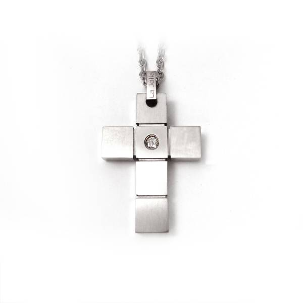 Original - Pendent titanium germanium jewelry,necklace,pendant,couple necklace,blood circulation,magnetite,La Jolla,neck strain,shoulder pain,massage,healthy,light, sedentary,prolonged standing,healthy,varices,father's