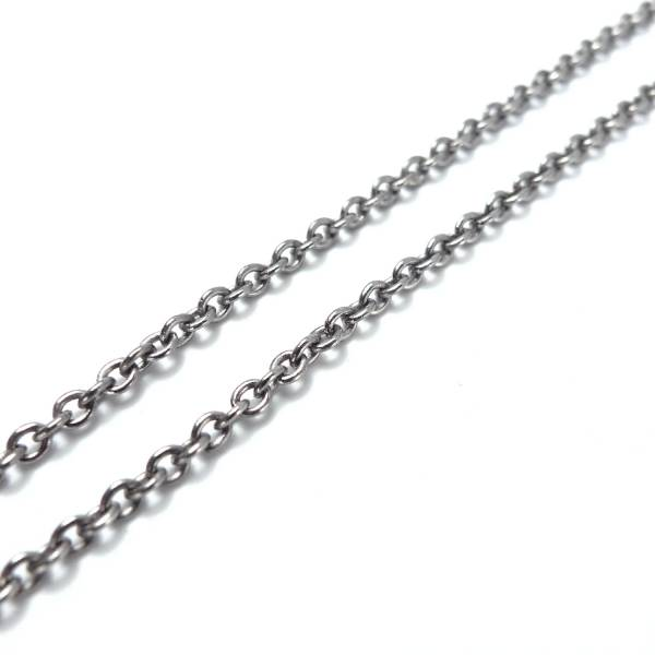F Chains - Single Cable - 50 cm titanium germanium jewelry,necklace,pendant,couple necklace,blood circulation,magnetite,La Jolla,neck strain,shoulder pain,massage,healthy,light, sedentary,prolonged standing,healthy,varices,father's