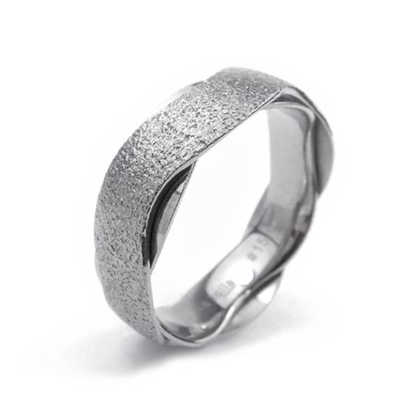 Midnight Galaxy - Wave - Male Ring  Titanium ring,rings,engagement rings,valentine's day gift,daily apparel,gem,light,Christmas gift,lucky charm,girlfriend,boyfriend,accessorries,propose