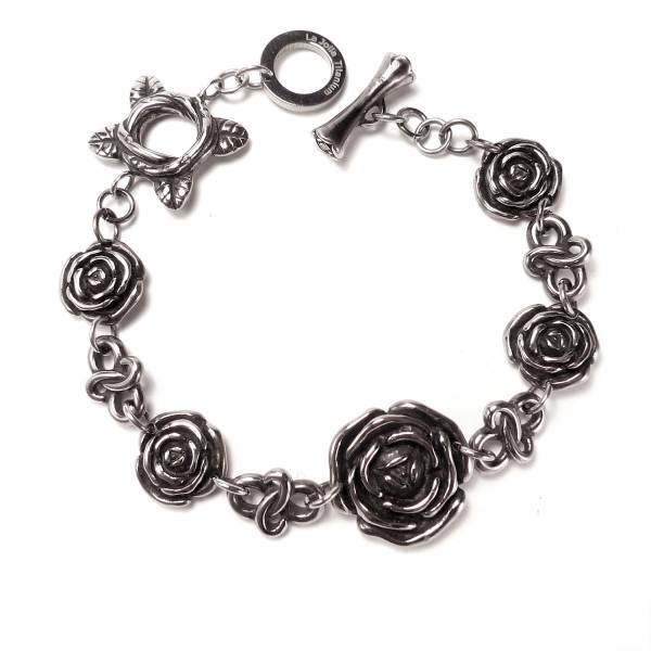 Holy and Pure Roses - Bracelet titanium germanium jewelry,bracelet,chains,bangles,couple bracelet,blood circulation,magnetite,La Jolla,neck strain,shoulder pain,massage,healthy,light, sedentary,prolonged standing,healthy,varices,ge