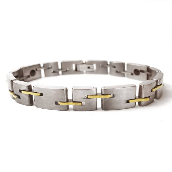 Timespinner  - 18K Gold - Female Bracelet titanium germanium jewelry,bracelet,chains,bangles,couple bracelet,blood circulation,magnetite,La Jolla,neck strain,shoulder pain,massage,healthy,light, sedentary,prolonged standing,healthy,varices,ge