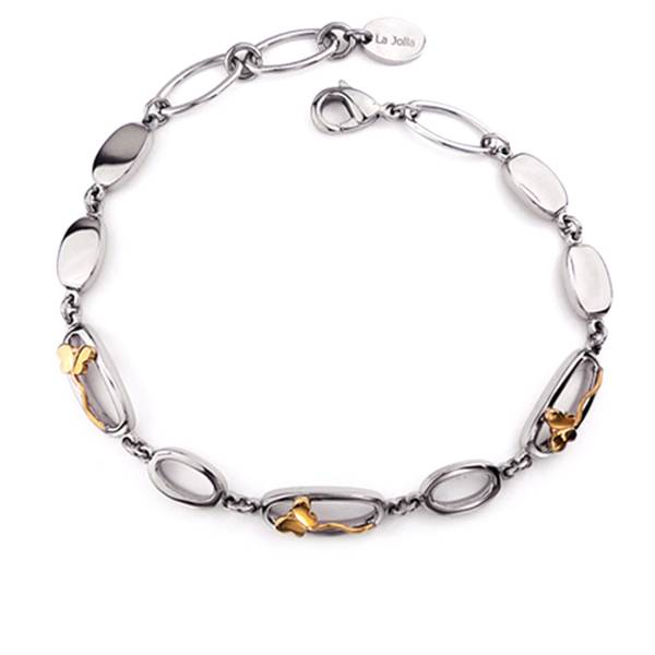Sweetheart Butterfly - Bracelet titanium germanium jewelry,bracelet,chains,bangles,couple bracelet,blood circulation,magnetite,La Jolla,neck strain,shoulder pain,massage,healthy,light, sedentary,prolonged standing,healthy,varices,ge