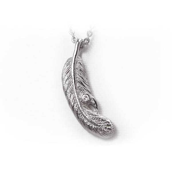 Feather - Pendant titanium germanium jewelry,necklace,pendant,couple necklace,blood circulation,magnetite,La Jolla,neck strain,shoulder pain,massage,healthy,light, sedentary,prolonged standing,healthy,varices,father's
