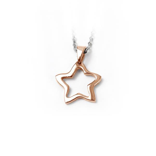 Magic Star - Rose Gold - Pendant Titanium ring,rings,engagement rings,valentine's day gift,daily apparel,gem,light,Christmas gift,lucky charm,girlfriend,boyfriend,accessories,propose