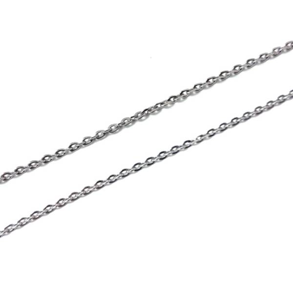 A Chains - Single Cable - 50 cm titanium germanium jewelry,necklace,pendant,couple necklace,blood circulation,magnetite,La Jolla,neck strain,shoulder pain,massage,healthy,light, sedentary,prolonged standing,healthy,varices,father's