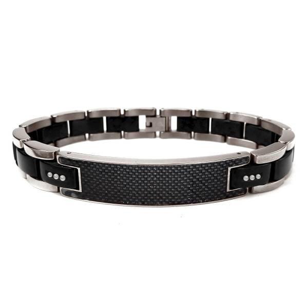 Asphalt Jungle - Bracelet titanium germanium jewelry,bracelet,chains,bangles,couple bracelet,blood circulation,magnetite,La Jolla,neck strain,shoulder pain,massage,healthy,light, sedentary,prolonged standing,healthy,varices,ge