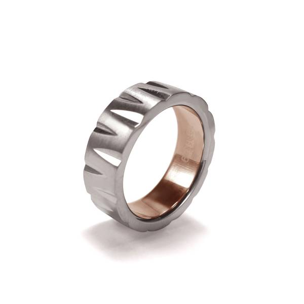 Wogue - inner Rose Gold - Female Ring Titanium ring,rings,engagement rings,valentine's day gift,daily apparel,gem,light,Christmas gift,lucky charm,girlfriend,boyfriend,accessories,propose