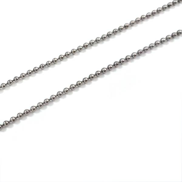 B Chains -  Beaded Chains  - 46 cm titanium germanium jewelry,necklace,pendant,couple necklace,blood circulation,magnetite,La Jolla,neck strain,shoulder pain,massage,healthy,light, sedentary,prolonged standing,healthy,varices,father's