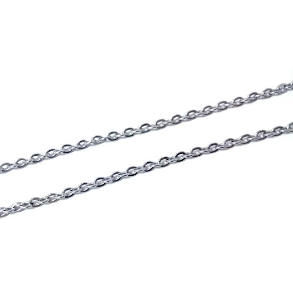 H Chains - Single Cable - 50 cm titanium germanium jewelry,necklace,pendant,couple necklace,blood circulation,magnetite,La Jolla,neck strain,shoulder pain,massage,healthy,light, sedentary,prolonged standing,healthy,varices,father's