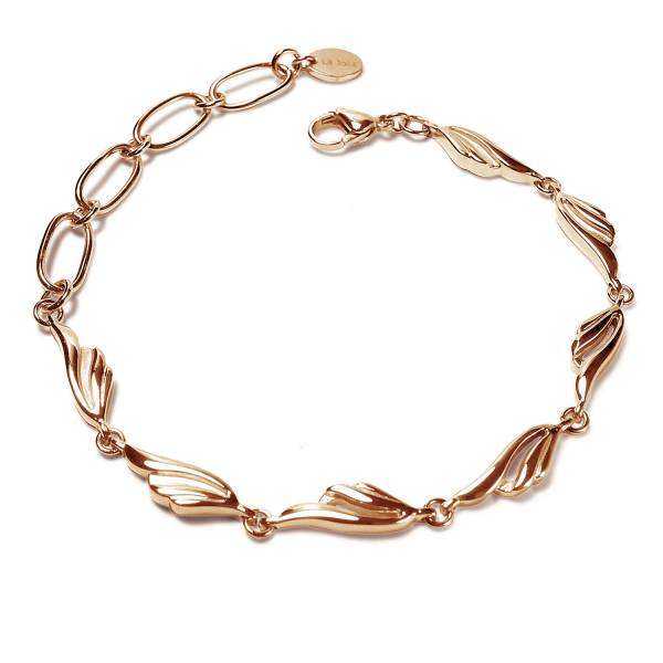 Wings of Dreams - Rose Gold - Bracelet titanium germanium jewelry,bracelet,chains,bangles,couple bracelet,blood circulation,magnetite,La Jolla,neck strain,shoulder pain,massage,healthy,light, sedentary,prolonged standing,healthy,varices,ge
