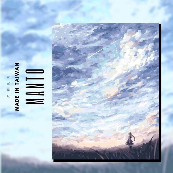 浮雲|MANTO創意數字油畫(4050) 巴黎,風景畫,數字油畫,manto,數字畫