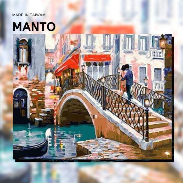 水都戀情|MANTO創意數字油畫(4050M) 威尼斯,風景畫,數字油畫,manto,數字畫