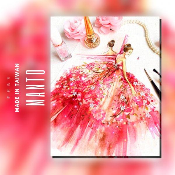 紅色情迷|MANTO創意數字油畫(4050M) 紅色情迷,數字油畫,manto,台灣數字油畫,數字油畫批發,倫敦
