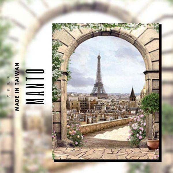 窗景艾菲爾|MANTO創意數字油畫(4050M) 艾菲爾鐵塔,風景畫,數字油畫,manto,數字畫