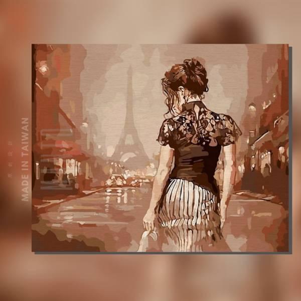 情夜巴黎|MANTO創意數字油畫(4050) 布拉格,風景畫,天鵝,數字油畫,manto,台灣數字油畫,數字油畫批發,數字油畫團購