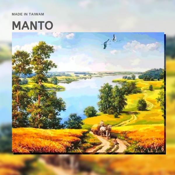 豐收|MANTO創意數字油畫(4050M) 豐收,風景畫,數字油畫,manto,台灣數字油畫,數字油畫批發,倫敦