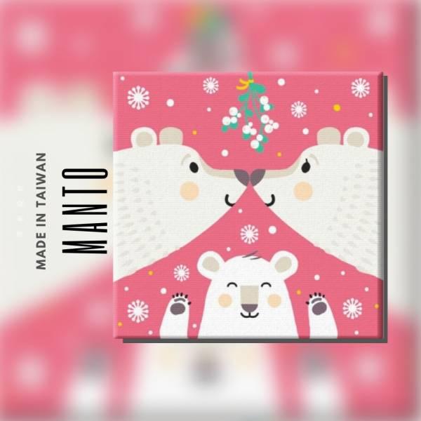 熊熊愛滿屋|MANTO創意數字油畫(3030) 熊,相親相愛,數字油畫,manto,台灣數字油畫,數字油畫批發,數字油畫團購