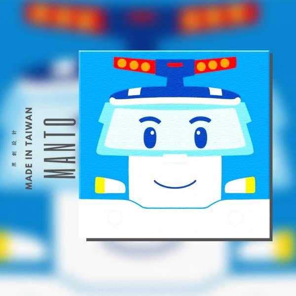 【正版POLI】大臉波力【現貨】-救援小英雄波力-2020(裸裝版)|MANTO創意數字油畫 poli,波力,數字油畫,manto,台灣數字油畫,數字油畫批發,數字油畫團購