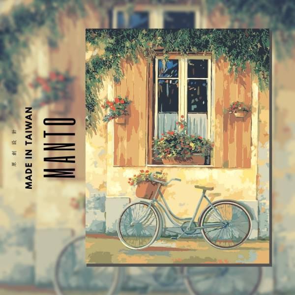 憶青春|MANTO創意數字油畫(4050M) 憶青春,風景畫,數字油畫,manto,台灣數字油畫,數字油畫批發,倫敦