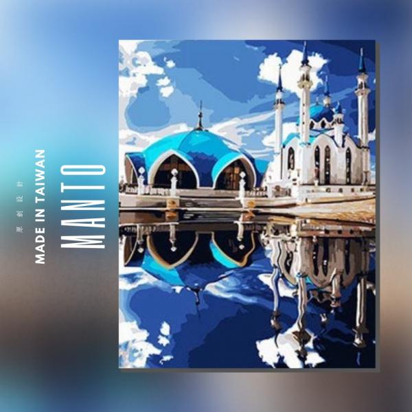 庫爾沙里夫清真寺 |MANTO創意數字油畫(4050M) 風景畫,花田,數字油畫,manto,台灣數字油畫,數字油畫批發,數字油畫團購