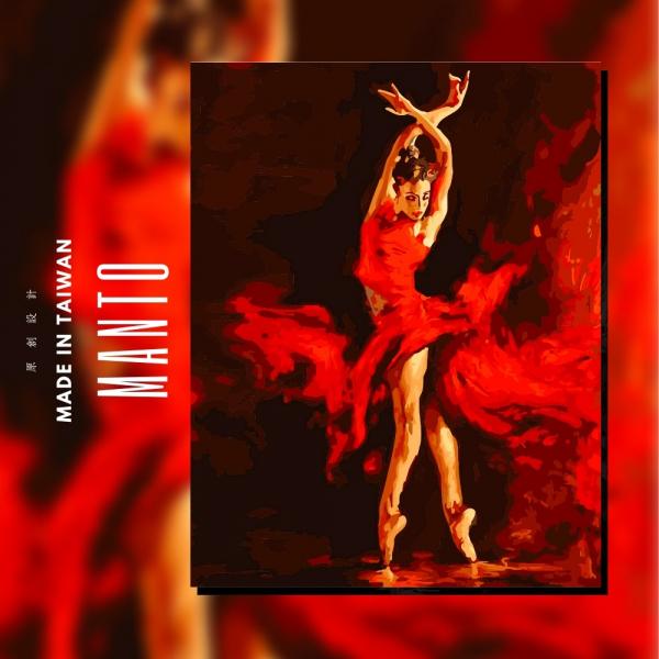 火舞|MANTO創意數字油畫(4050M) 憶青春,風景畫,數字油畫,manto,台灣數字油畫,數字油畫批發,倫敦