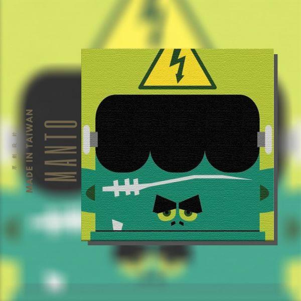 科學怪人【現貨】|MANTO創意數字油畫(2020) 科學怪人,萬聖節,數字油畫,manto,台灣數字油畫,數字油畫批發,數字油畫團購