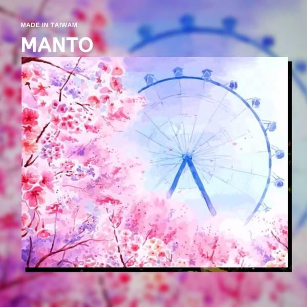 櫻花摩天輪|MANTO創意數字油畫(4050) 銀河,風景畫,數字油畫,manto,數字畫