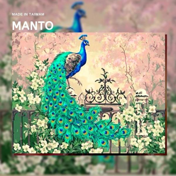 萬彩開屏|MANTO創意數字油畫(4050M) 萬彩開屏,風斯畫,數字油畫,manto,台灣數字油畫,數字油畫批發,倫敦