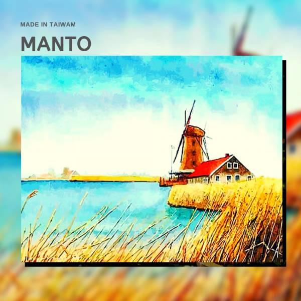 風車河畔|MANTO創意數字油畫(4050M) 風車,風景畫,數字油畫,manto,數字畫