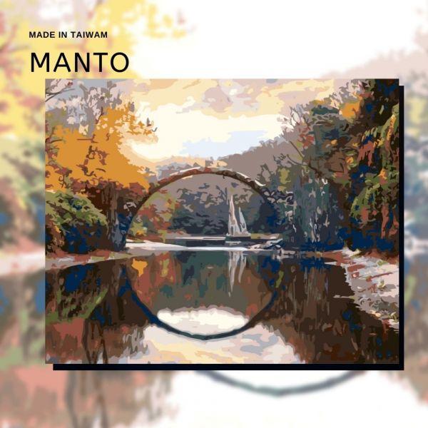 德國拉科茨橋 MANTO創意數字油畫(4050) 德國,風景畫,數字油畫,manto,數字畫