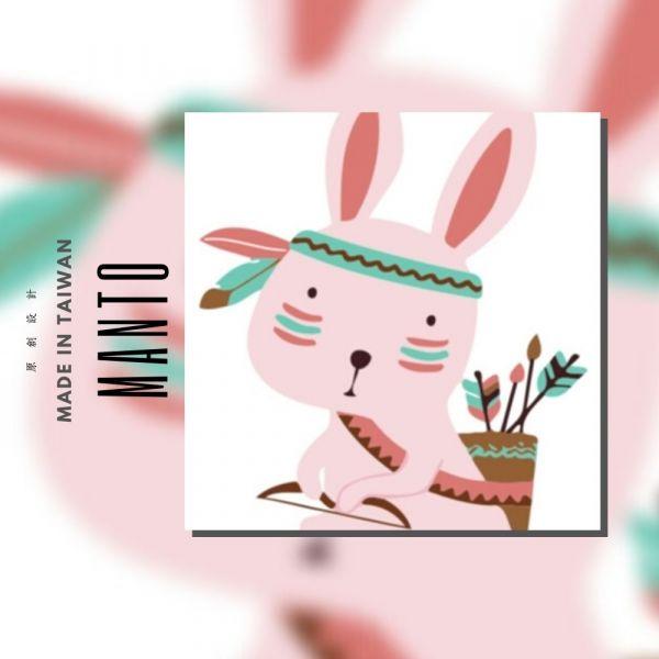 部落兔|MANTO創意數字油畫(2020) 兔子,旅行,數字油畫,manto,台灣數字油畫,數字油畫批發,數字油畫團購
