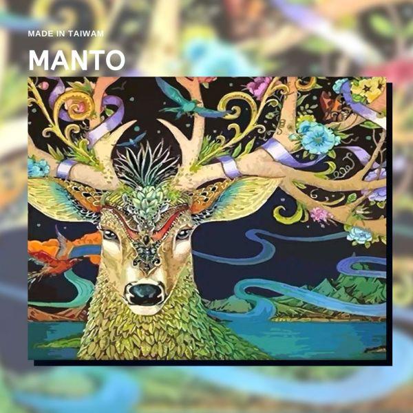 現代浮世繪-鹿|MANTO創意數字油畫(4050M) 鹿,浮世繪,數字油畫,manto,數字畫