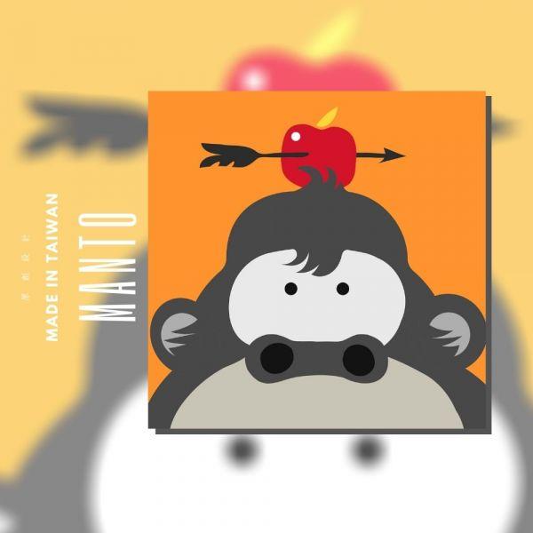 猩猩【現貨】|MANTO創意數字油畫(2020) 猩猩,旅行,數字油畫,manto,台灣數字油畫,數字油畫批發,數字油畫團購