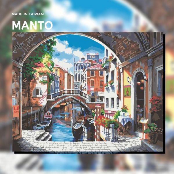 水都晨光|MANTO創意數字油畫(4050M) 威尼斯,風景畫,數字油畫,manto,數字畫