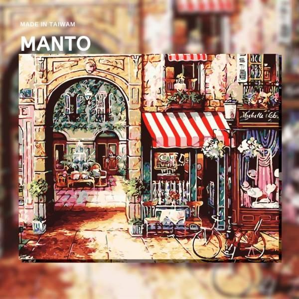 午後閒情|MANTO創意數字油畫(4050M) 午後閒情,數字油畫,manto,台灣數字油畫,數字油畫批發,倫敦